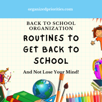 Routines to Get Back to School